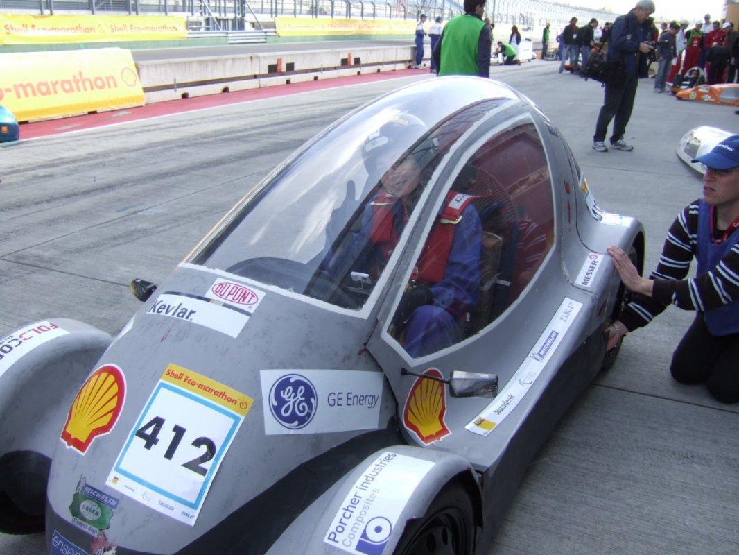 Essai 2 - ENSEM - Shell Eco-marathon 2010