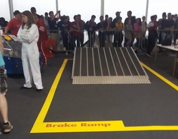 Brake ramp