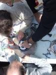 Réparation du moteur roue - ENSEM - Shell Eco-marathon 2010