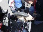 Fin des réparations du moteur roue - ENSEM - Shell Eco-marathon 2010